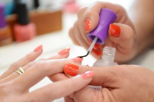 nail and hand manicure
